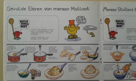 Gevulde eieren van meneer Malloot